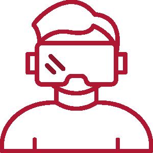Mensch mit Brille Icon